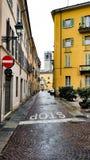 Λίγη οδός στην Ιταλία στοκ φωτογραφία με δικαίωμα ελεύθερης χρήσης