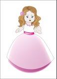 Λίγη παράνυμφος πριγκηπισσών απεικόνιση αποθεμάτων