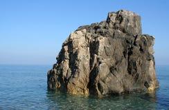 Λίγη παραλία θάλασσας νησιών Στοκ Εικόνες