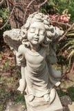Λίγος άγγελος cupid Στοκ φωτογραφία με δικαίωμα ελεύθερης χρήσης