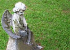 Λίγος άγγελος Stone Στοκ Εικόνα
