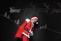 Λίγος Άγιος Βασίλης Στοκ Φωτογραφίες