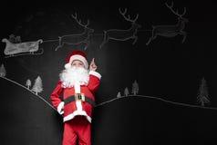 Λίγος Άγιος Βασίλης Στοκ Εικόνα