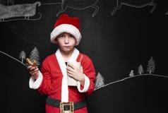 Λίγος Άγιος Βασίλης Στοκ Εικόνες