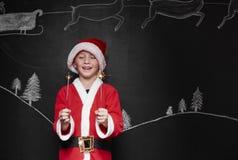 Λίγος Άγιος Βασίλης Στοκ φωτογραφίες με δικαίωμα ελεύθερης χρήσης