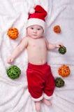 Λίγος Άγιος Βασίλης. Στοκ Εικόνες