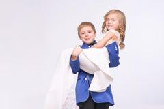 Λίγος γάμος εορτασμού ζευγών αγάπης Στοκ φωτογραφία με δικαίωμα ελεύθερης χρήσης