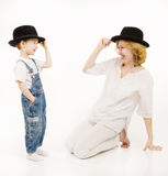 λίγος γιος μητέρων Στοκ φωτογραφίες με δικαίωμα ελεύθερης χρήσης