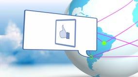 Λίγος εντοπισμός με το κοινωνικό δίκτυο στον κόσμο φιλμ μικρού μήκους