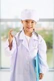 Λίγος ιατρός παθολόγος Στοκ Εικόνες