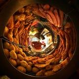 Λίγος κόσμος του τηγανισμένου ατόμου Στοκ εικόνα με δικαίωμα ελεύθερης χρήσης