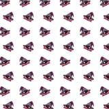 Λίγος μάγος - σχέδιο 36 αυτοκόλλητων ετικεττών απεικόνιση αποθεμάτων