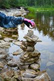 Λίγος πύργος πετρών στοκ φωτογραφία με δικαίωμα ελεύθερης χρήσης