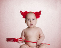 Λίγος διάβολος Στοκ Φωτογραφία