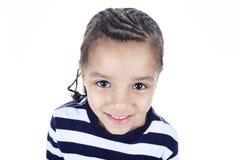 Λίγο αγόρι αφροαμερικάνων Στοκ Φωτογραφία