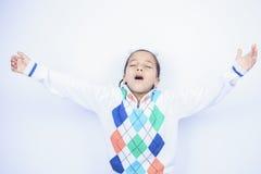 Λίγο αγόρι αφροαμερικάνων Στοκ Φωτογραφίες