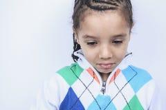 Λίγο αγόρι αφροαμερικάνων Στοκ Εικόνες