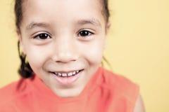 Λίγο αγόρι αφροαμερικάνων Στοκ εικόνα με δικαίωμα ελεύθερης χρήσης