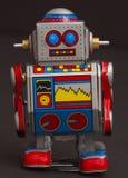 λίγο αναδρομικό ρομπότ Στοκ Φωτογραφία