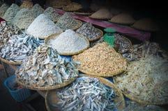 Λίγο αποξηραμένο ψάρι, αγορές Sumatra Στοκ φωτογραφία με δικαίωμα ελεύθερης χρήσης