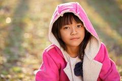 Λίγο ασιατικό κορίτσι Στοκ Φωτογραφία