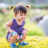 Λίγο ασιατικό κορίτσι Στοκ Εικόνες