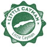 Λίγο εκλεκτής ποιότητας γραμματόσημο χαρτών Cayman διανυσματική απεικόνιση