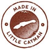 Λίγο εκλεκτής ποιότητας γραμματόσημο χαρτών Cayman απεικόνιση αποθεμάτων