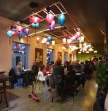 Λίγο εστιατόριο του Ανόι στα ταϊλανδικά τρόφιμα της Ρουμανίας timisoara στοκ εικόνα με δικαίωμα ελεύθερης χρήσης