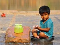 Λίγο ινδικό κορίτσι Στοκ φωτογραφία με δικαίωμα ελεύθερης χρήσης