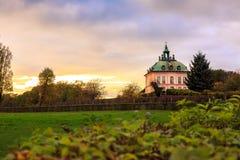 Λίγο κάστρο Fasanenschlösschen Moritzburg Στοκ φωτογραφία με δικαίωμα ελεύθερης χρήσης