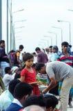 Λίγο κορίτσι σε ένα Bazaar στοκ εικόνες με δικαίωμα ελεύθερης χρήσης