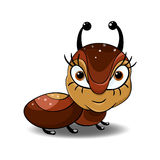 Λίγο μυρμήγκι διανυσματική απεικόνιση