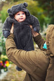 Λίγο μωρό αντέχει Στοκ φωτογραφίες με δικαίωμα ελεύθερης χρήσης