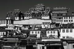Λίγο παλάτι Lamasery Potala στοκ εικόνα με δικαίωμα ελεύθερης χρήσης