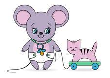 Λίγο ποντίκι απεικόνιση αποθεμάτων