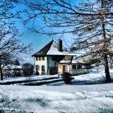 Λίγο σπίτι στο prerry Στοκ εικόνες με δικαίωμα ελεύθερης χρήσης