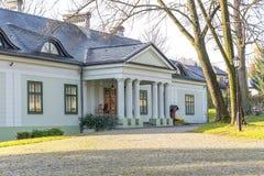 Λίγο σπίτι φέουδων στο Boleslaw Πολωνία Στοκ φωτογραφία με δικαίωμα ελεύθερης χρήσης