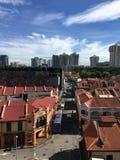 Λίγο τοπίο Σινγκαπούρη της Ινδίας Στοκ Φωτογραφίες