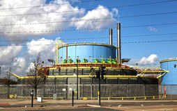 Λίγο τοπικό εργοστάσιο, Λονδίνο, λεύκα UK στοκ εικόνες με δικαίωμα ελεύθερης χρήσης