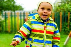 Λίγο τρέχοντας αγόρι Στοκ φωτογραφία με δικαίωμα ελεύθερης χρήσης
