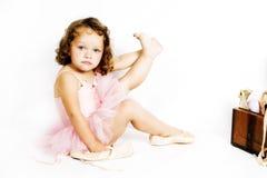 Λίγο Ballerina στοκ εικόνες