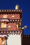 Λίγο Potala παλάτι Lamasery στοκ φωτογραφίες με δικαίωμα ελεύθερης χρήσης
