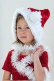 λίγο santa Στοκ φωτογραφία με δικαίωμα ελεύθερης χρήσης