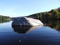Λίκνισμα στο νερό Στοκ εικόνα με δικαίωμα ελεύθερης χρήσης