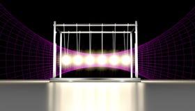 Λίκνο Einstein Newtons Στοκ εικόνα με δικαίωμα ελεύθερης χρήσης