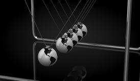 Λίκνο Newton Στοκ Φωτογραφίες