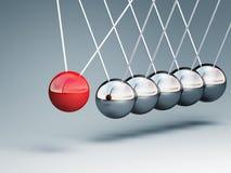 λίκνο Newton Στοκ εικόνα με δικαίωμα ελεύθερης χρήσης