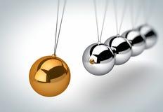 λίκνο Newton s διανυσματική απεικόνιση