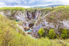 Λίμνες και καταρράκτες στο εθνικό πάρκο Plitvice Στοκ φωτογραφίες με δικαίωμα ελεύθερης χρήσης